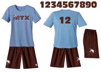 Nouveau design de maillots
